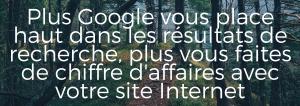 Plus Google vous place haut
