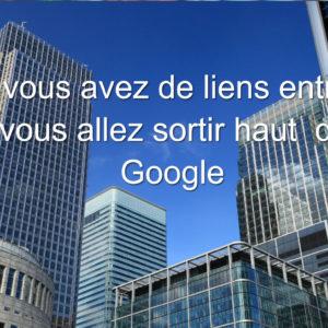 Visibilité Google référencement 2,500 liens retour garanti