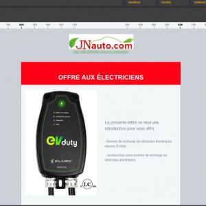 E-mail Marketing B2B transfert technologique