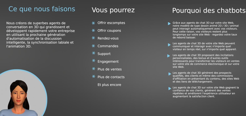 Brochure interieure chatbot francais